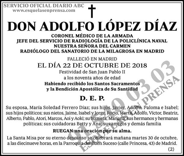 Adolfo López Díaz